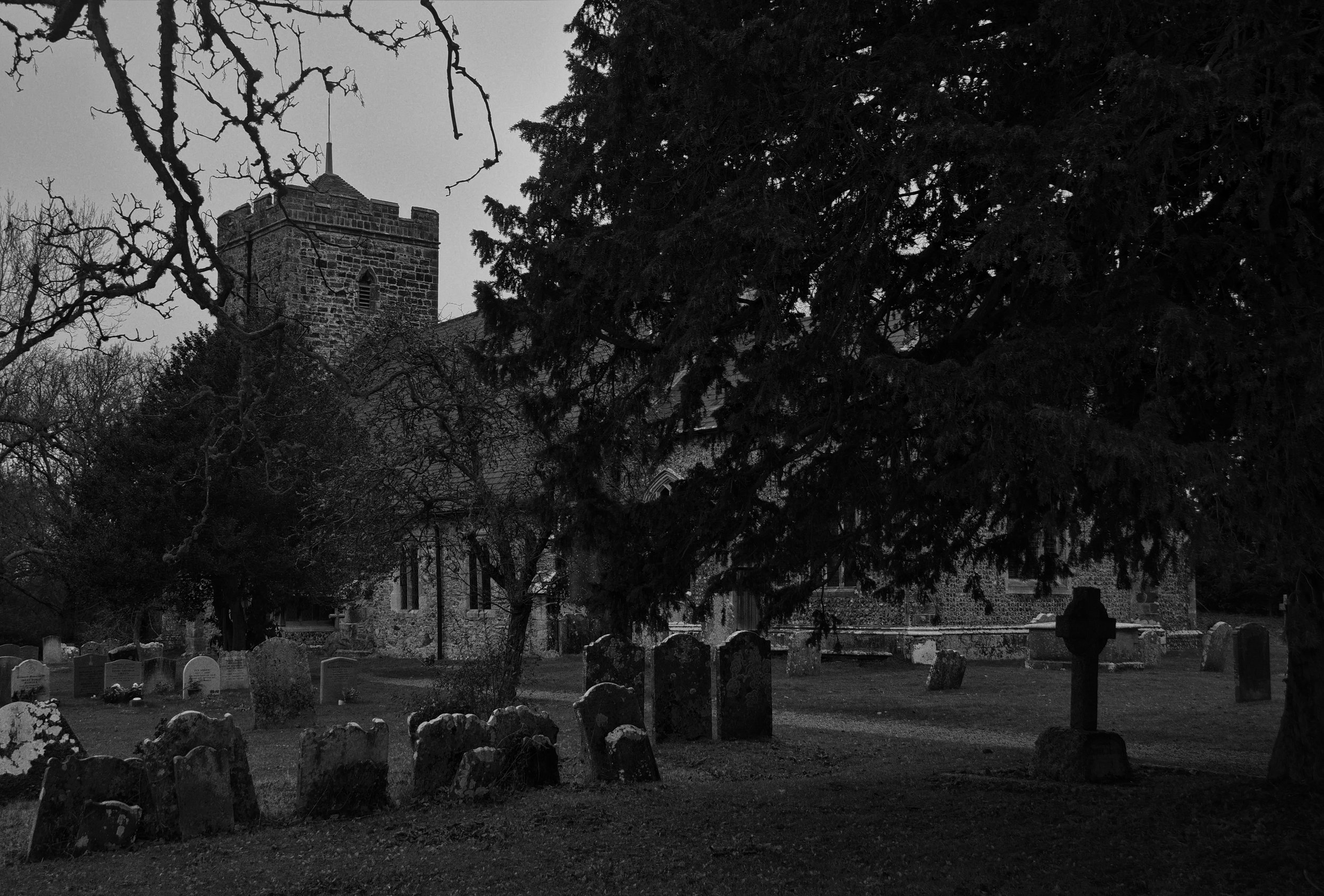 Churchyard, southeast