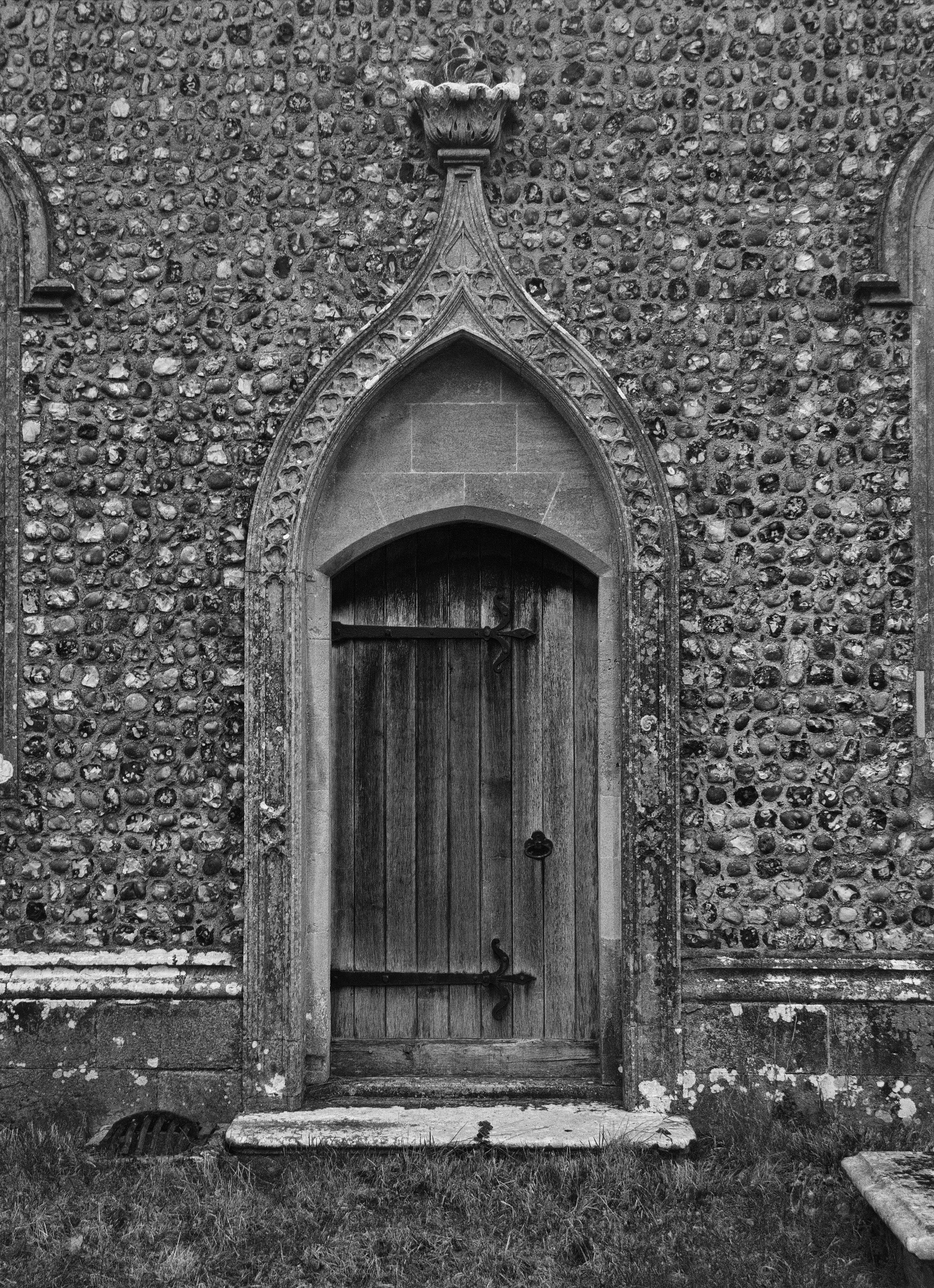 Priest's door, south