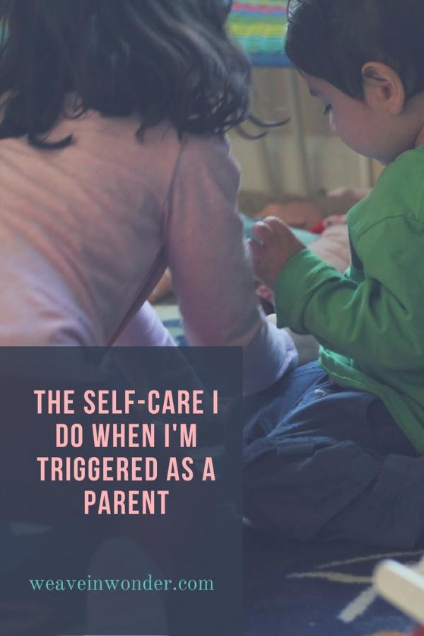 Triggered mindful parenting