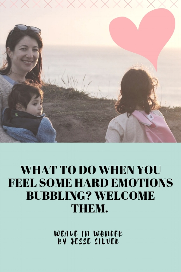welcoming emotions