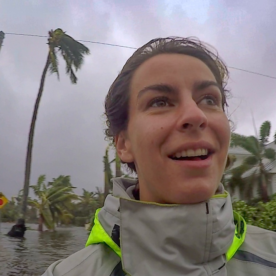 - Melody Sturm, meteorologist and your tour guide on this adventureSend me an emailExperience: Hurricanes Irma, Charley & Frances