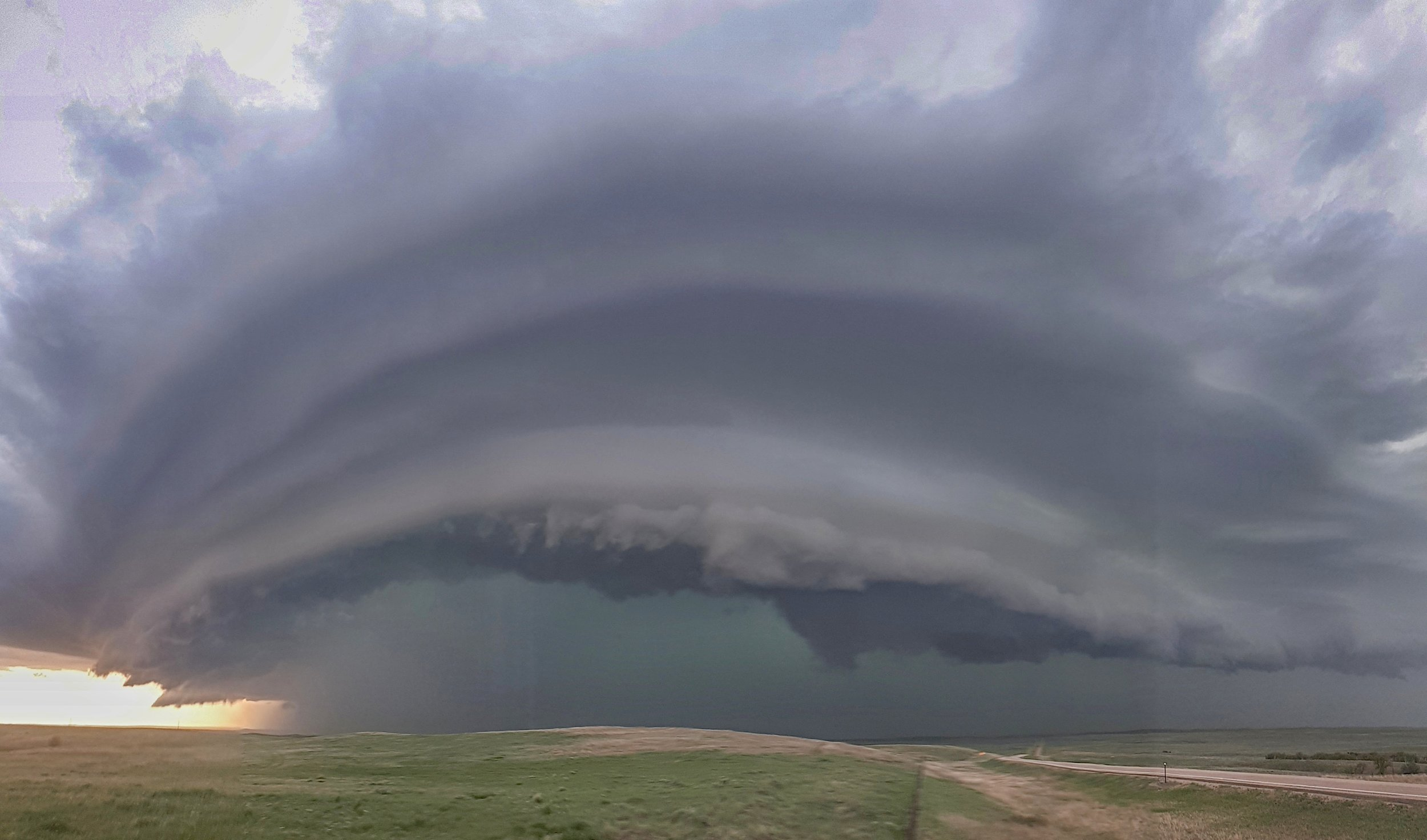 North-east of Rapid City, South Dakota. The mothership is coming