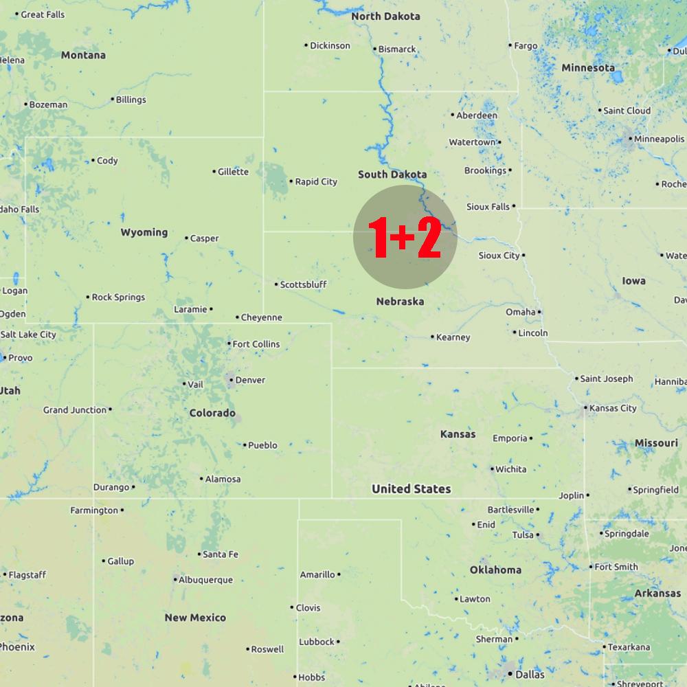 24 May - South Dakota & Nebraska -