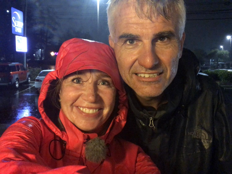 We zijn net terug uit Amerika na een succesvolle orkanen 'hunt'. - * 170 km/uur windstoten* 20 minuten in het oog van Florence* 600 mm regen in 3 dagen
