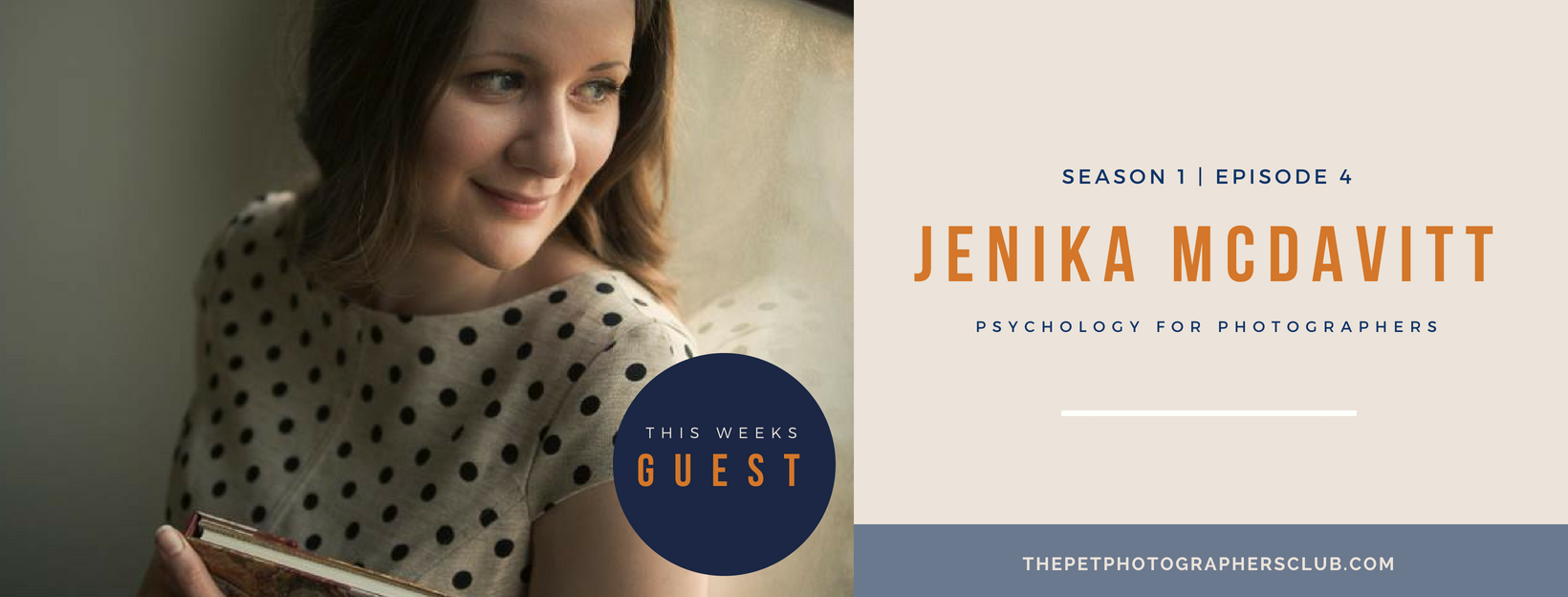 Jenika McDavitt - Psychology for Photographers - Make your business irresistible for your pet photography clients