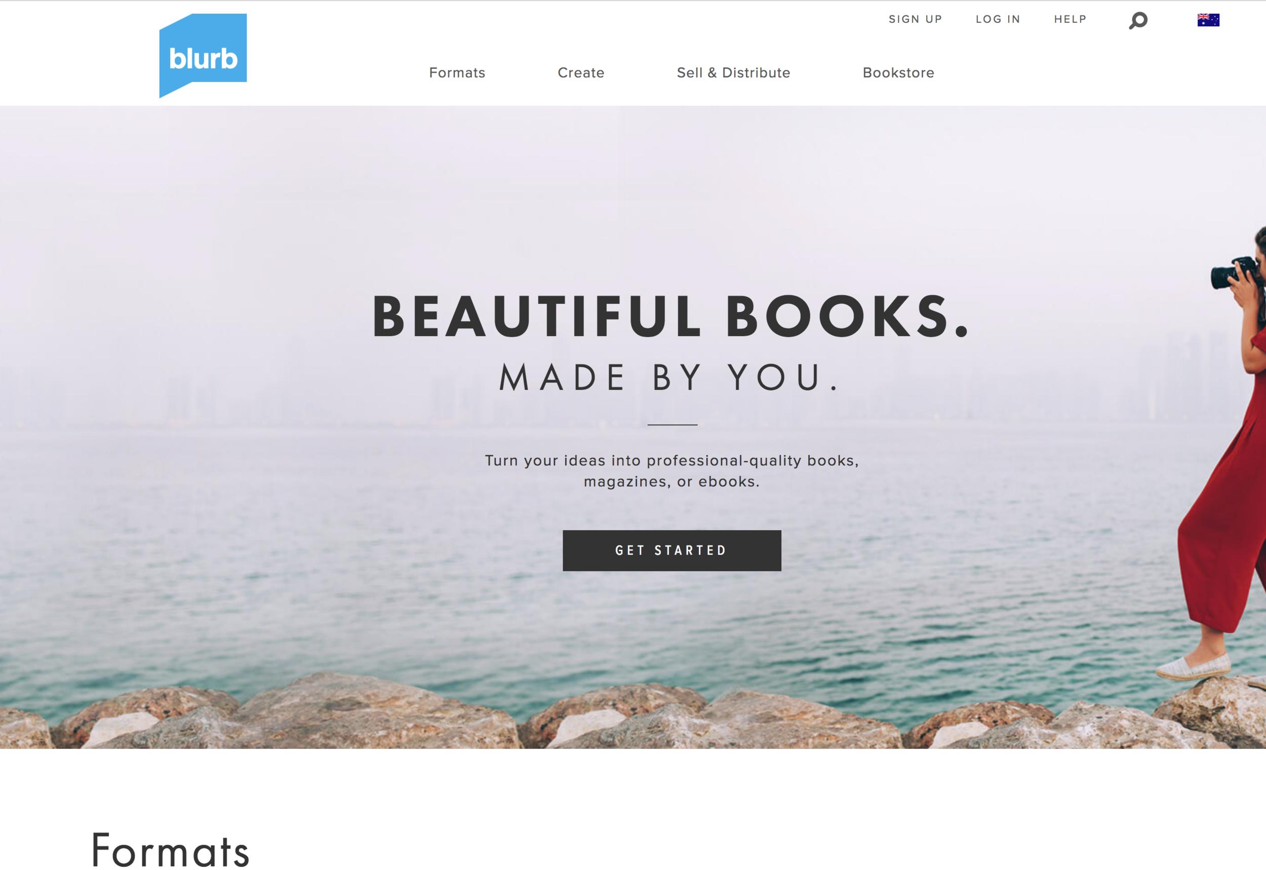 BLURB.COM - Print on Demand Books