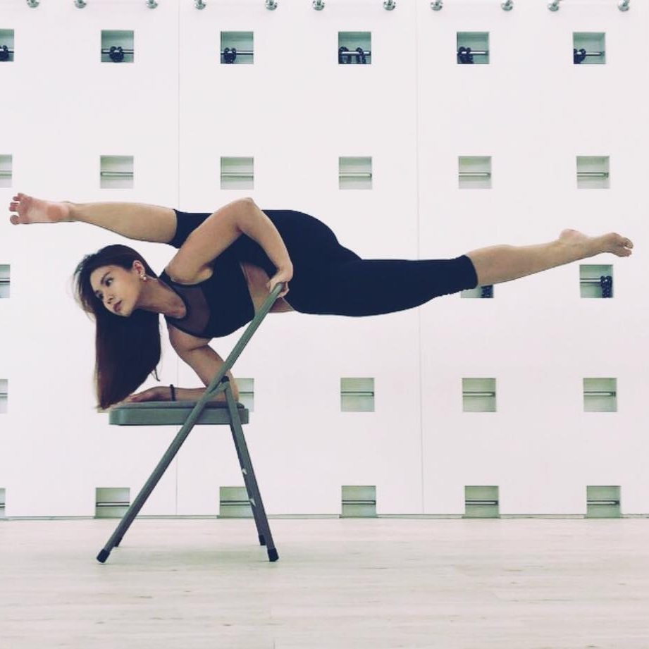 Chair Yoga by Esther Leong - Sunday · Sept 1, 2019 · 11:30 → 12:30 @ The Square