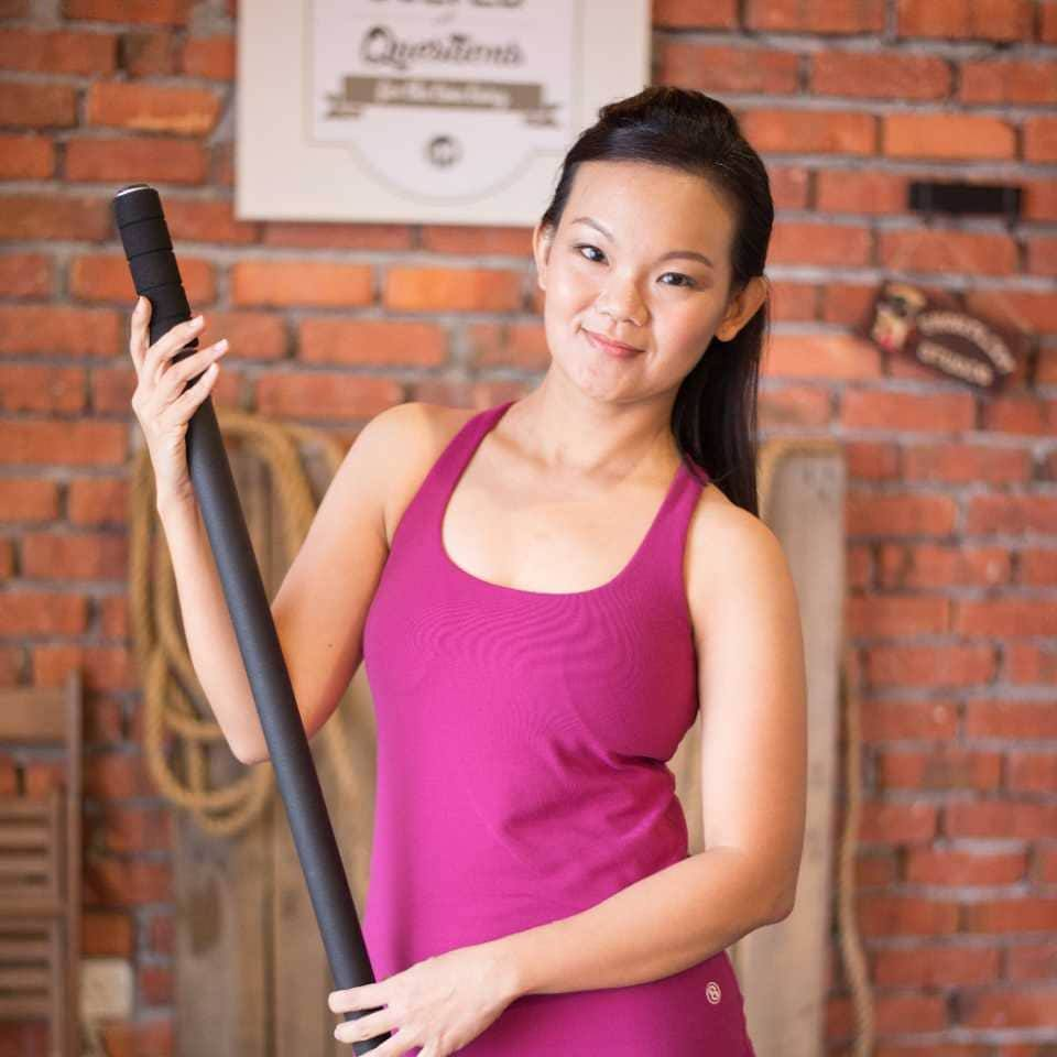 Yoga Stick by Josephine Chan - Friday · Aug 30, 2019 · 2.30 → 4.00 PM @ Whitebox