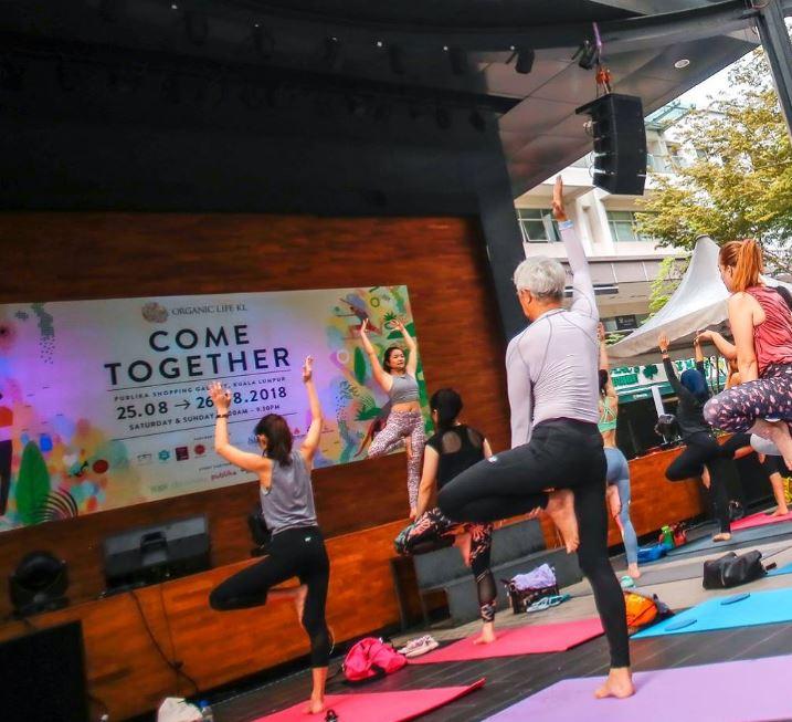 Morning Yoga by Jo'Liv Kok - Saturday · Aug 31, 2019 · 10:00 → 11:00 @ The Square