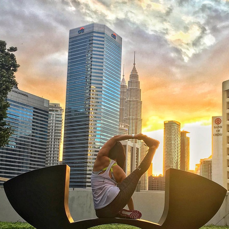 Evening Yoga by Robyn Lau - Saturday · Aug 31, 2019 · 16:00 → 17:00 @ The Square