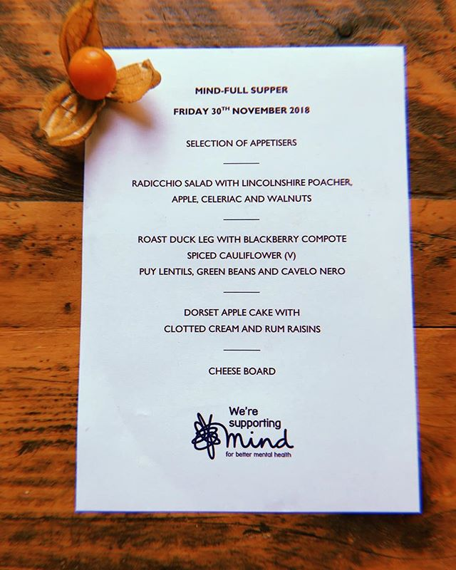 Great menu inspiration from last night's #mindfullsupper hosted by @ellienettleship