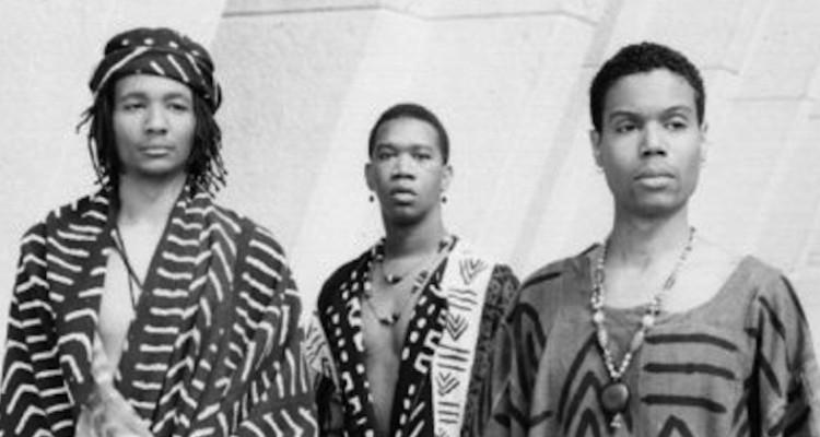 Archive Photo of The Adodi Muse: A Gay Negro Ensemble (Left to Right Tony Daniels, Duncan E. Teague & Malik M.L. Williams)