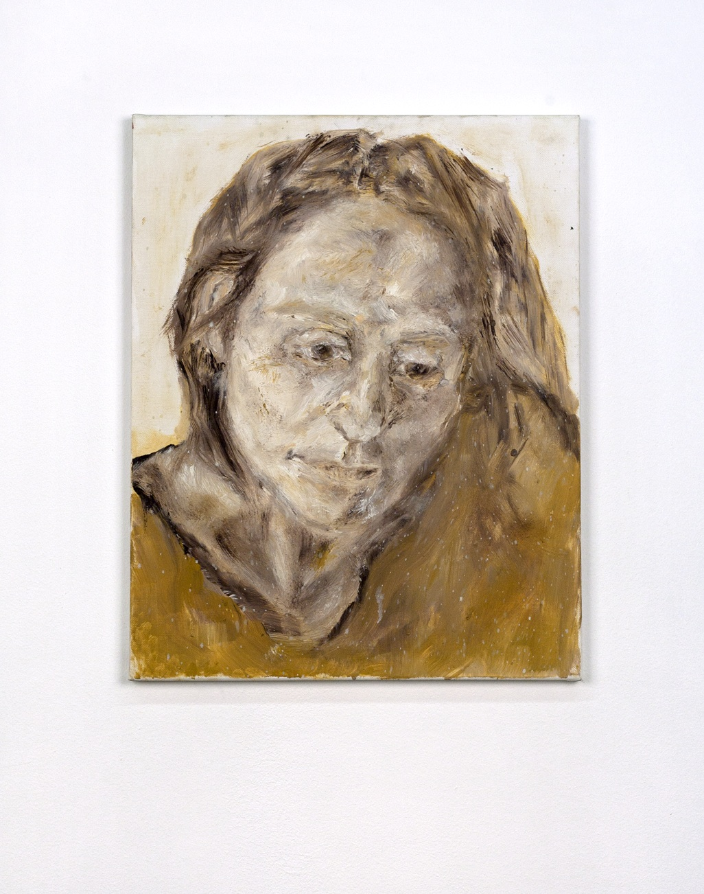 self portrait 4. 50x40cm