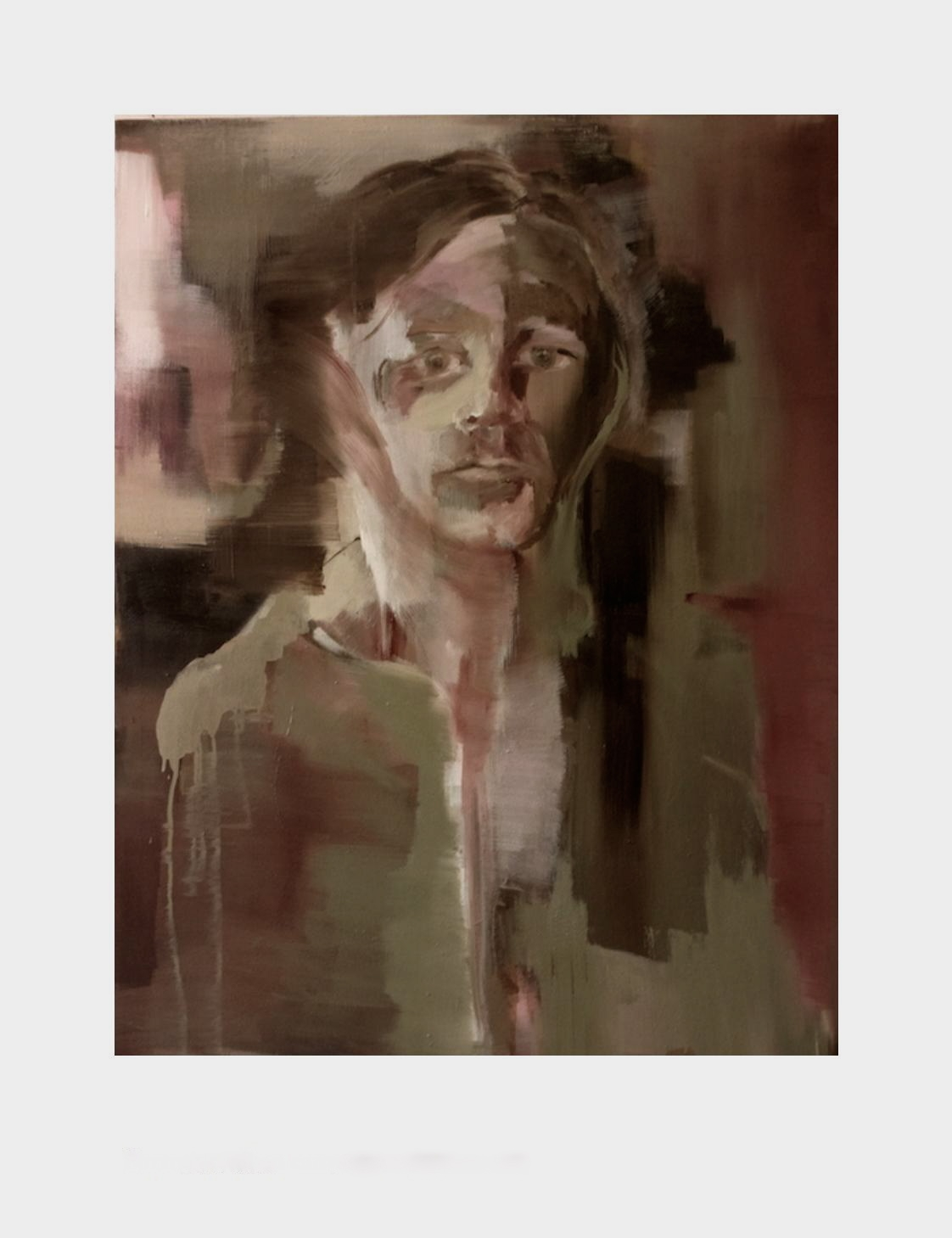 self portrait. 90x 69,5cm