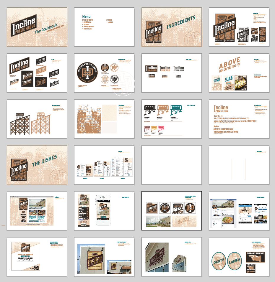 Guidelines created for an extended branding project