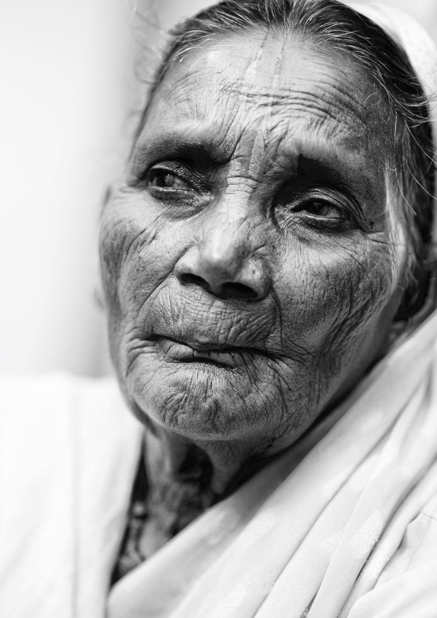 widow of vrindavan :: portrait black and white IIII.jpg