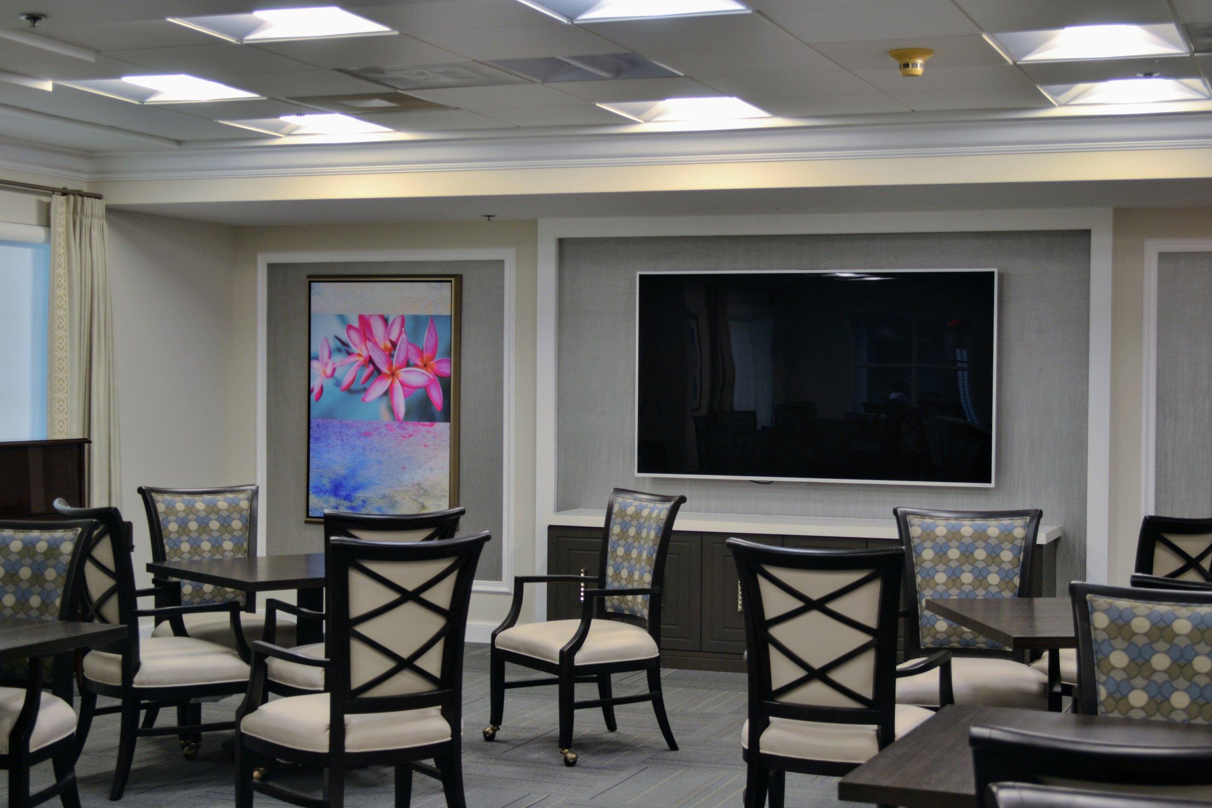 Banyan Place at Boca Raton Entertainment Room