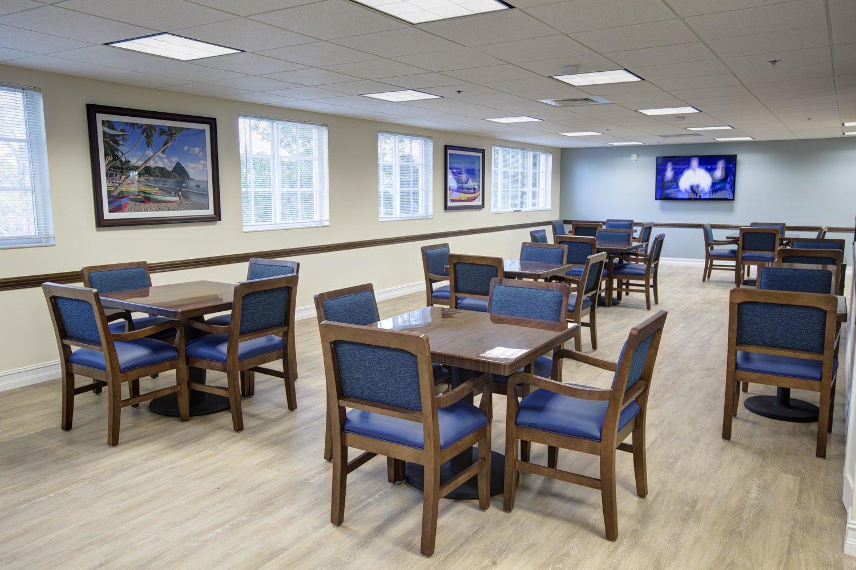 Banyan Place at Boca Raton Building A Dining Room
