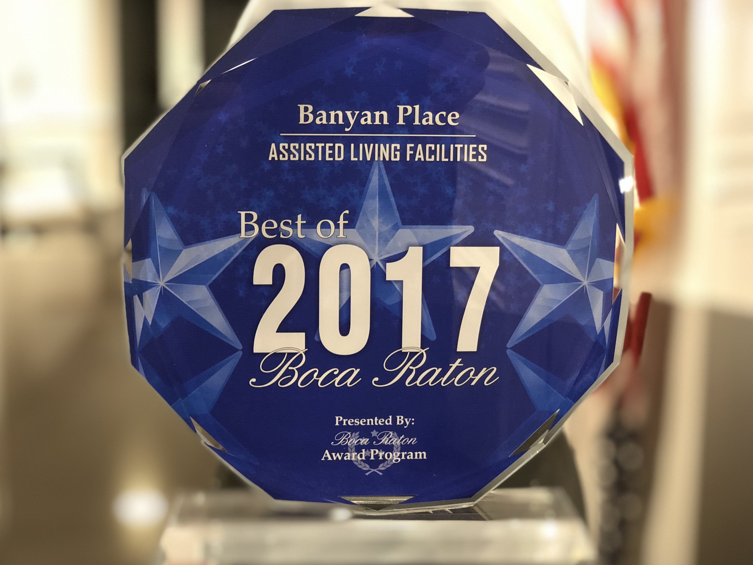 Banyan Place Best of Boca Raton Assisted Living Facility 2017