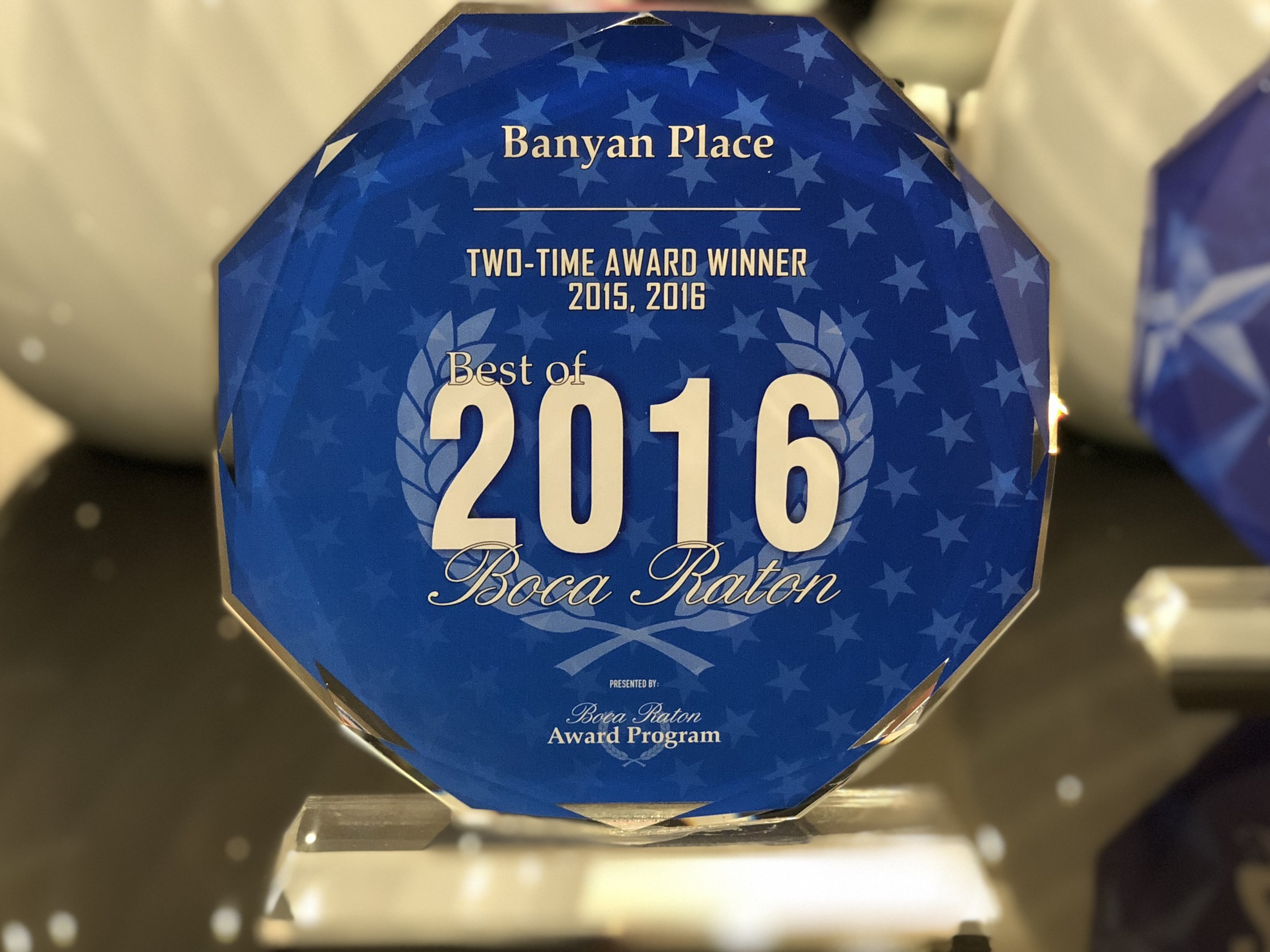 Banyan Place Best of Boca Raton Assisted Living Facility 2016