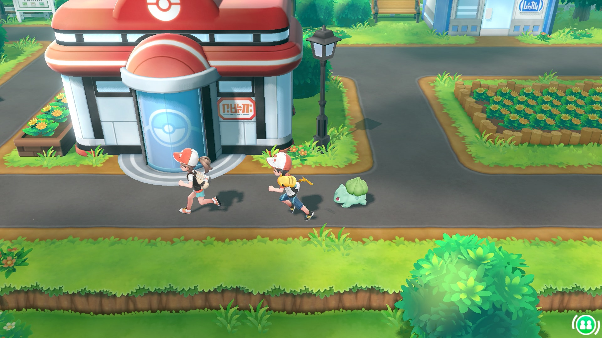 Multiplayer Option -    Since this is officially the first core Pokémon game to come to a 'console', it is the first time we are given the opportunity to have multiplayer functionality. In these new games, Game Freak is taking advantage of the Switch's tabletop mode, allowing a second player to pop in and out of the game, and assist in battling, as well as catching Pokémon. This opens the door for families who have one switch, but multiple players. Long gone are the days where you have to pass the Gameboy or DS to a friend or sibling, you can play at the same time!
