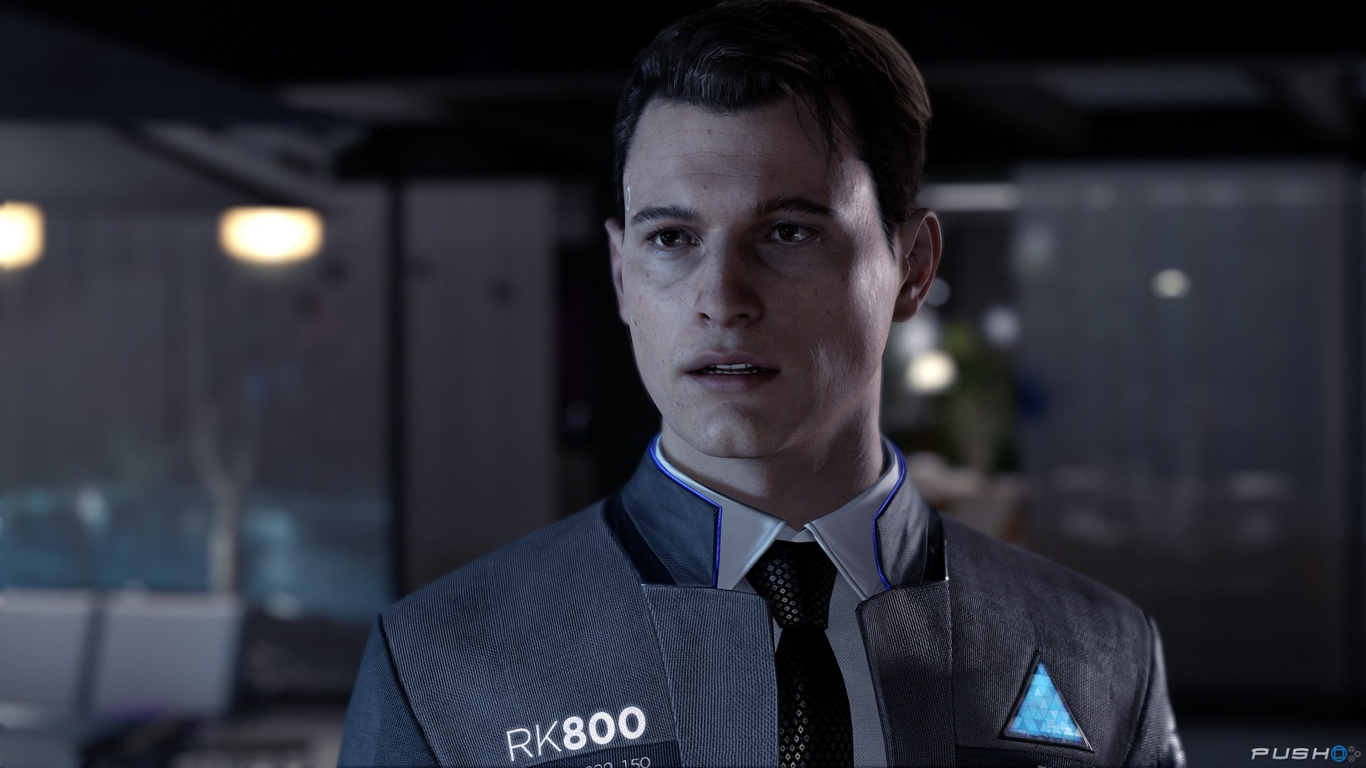Connor: The Detective - This guy here, is my favorite character in the game. I think you get the chance to say witty, asshole cop remarks, and I loved it! I found myself speeding through the other two characters stories to find out what happens to him next. If you are a fan of cop shows or movies at all, I think you will have a similar opinion as me. You work as an assistant to the main detective on the android case, Hank, who is a bitter old cop who hates androids, go figure. I think it makes for some funny banter, and a bittersweet ending.Ultimately, the choice is yours, make Conner a total dick if you want to, see how it affects your story. Just remember, you can always replay it if you don't like the outcome. Or just keep going, you'll earn a trophy either way.