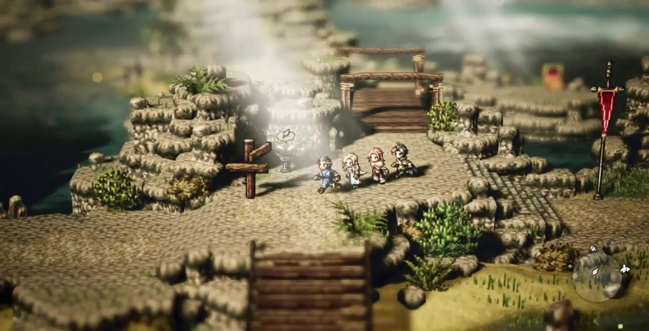 gain-experience-quickly-octopath-traveler-save-point-marker.jpg