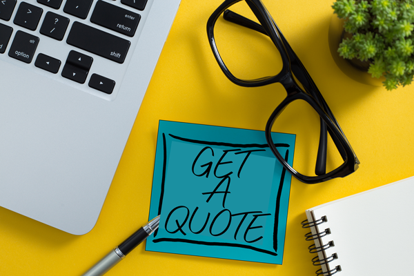 GET A QUOTE - Our online calculator is coming soon. In the meantime email us for a quote.