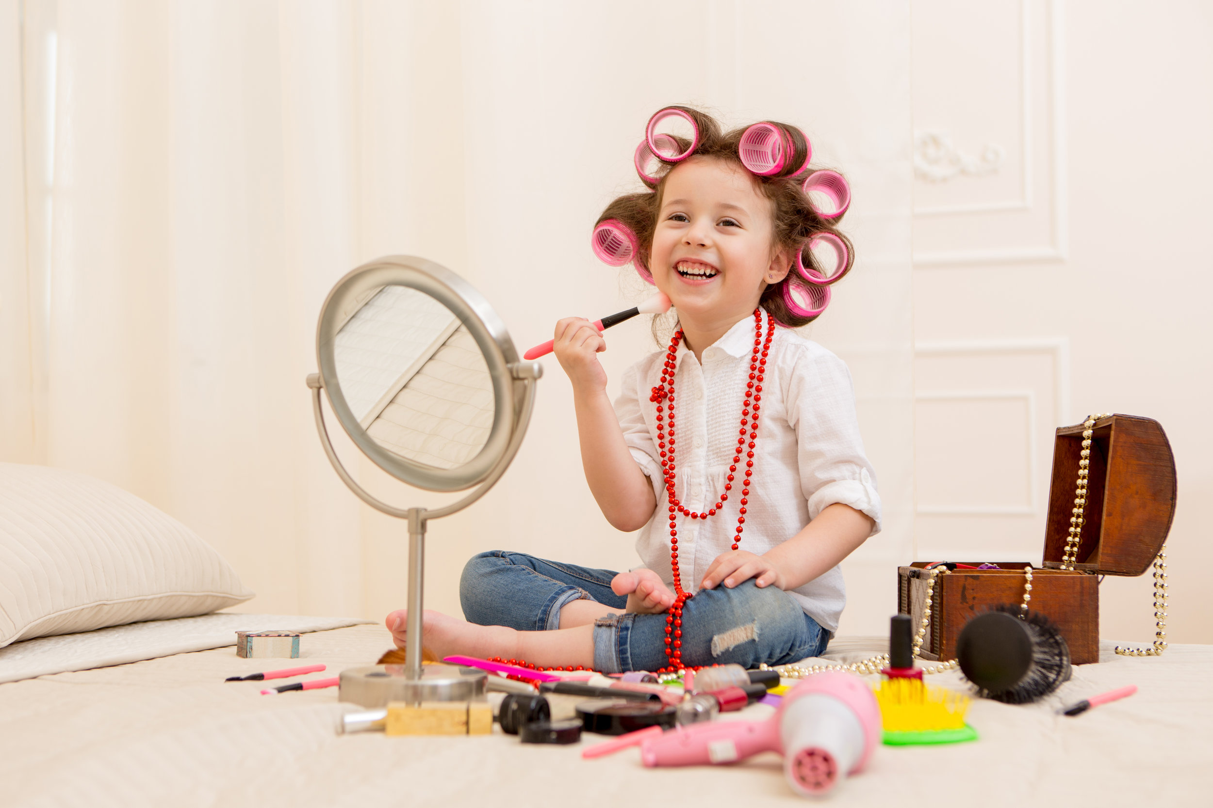 stock photo 5 little girl dressup.jpg