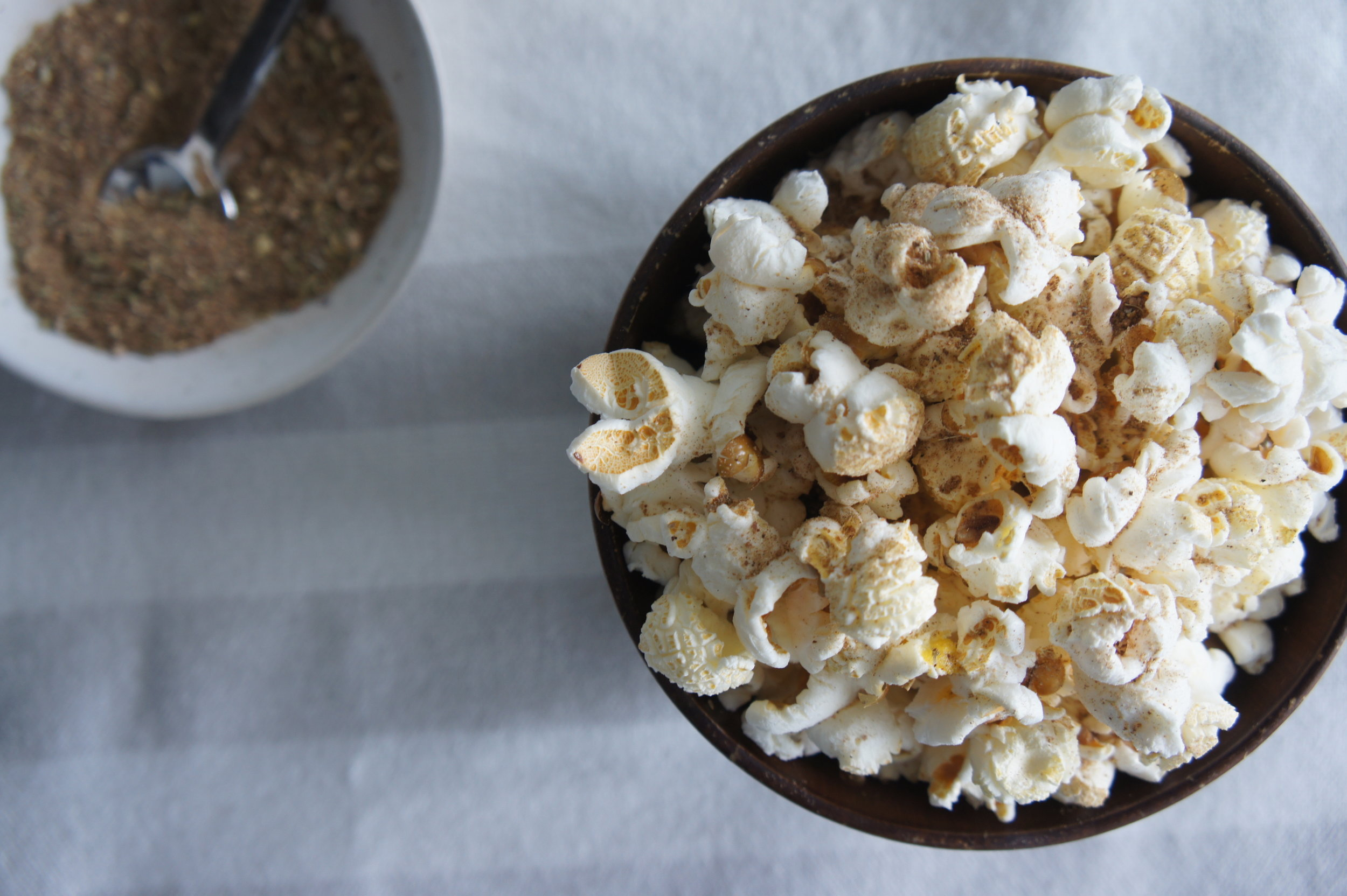 Sweet Masala Chai Popcorn -