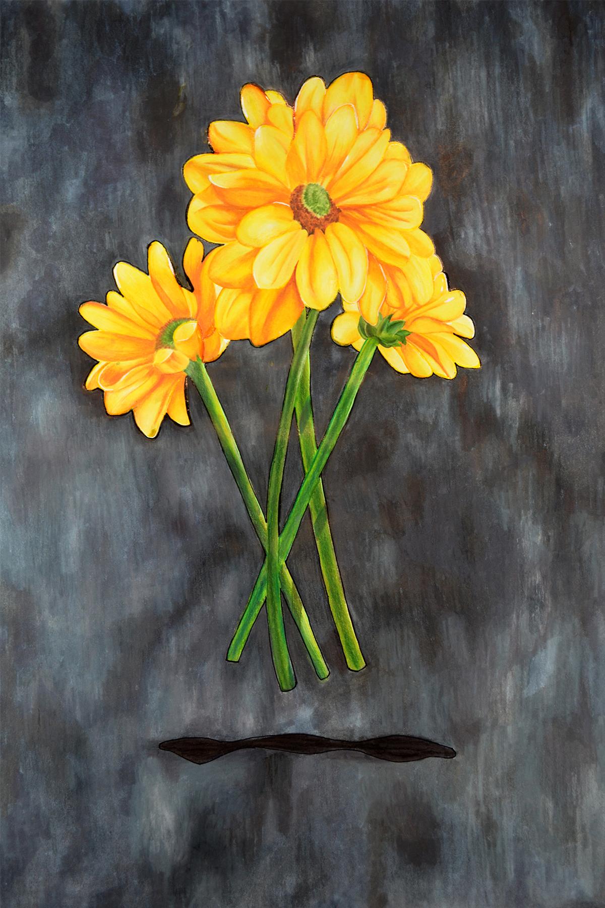 Landscape Vase of Daisies Color BG.jpg