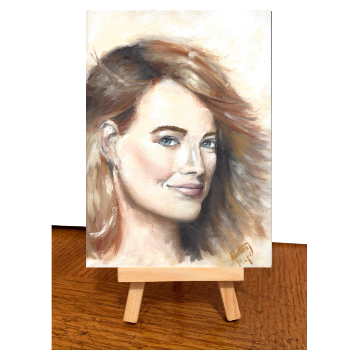 Emma Stone Britt Teanie Available (Made to Order)