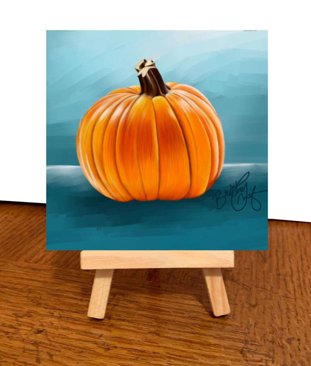 Pumpkin Britt Teanie Available (Made to Order)