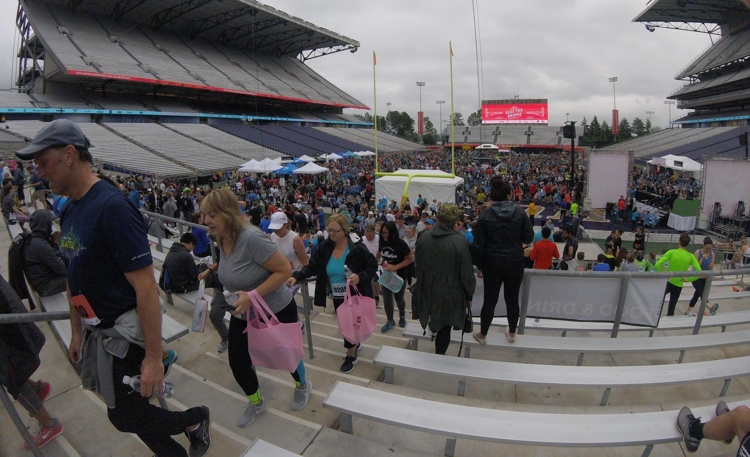 Husky Stadium Packed with Bridgers -