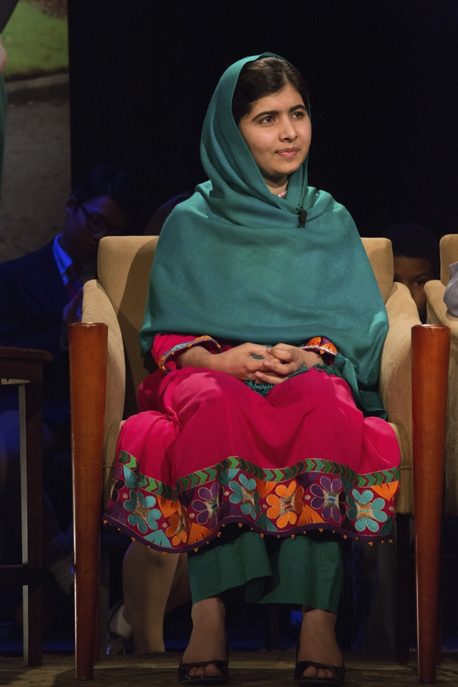 Malala at the 92Y NYC 2013