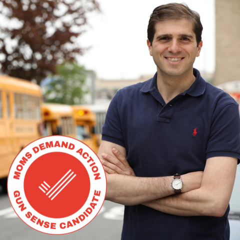 I'm proud to be a GunSense candidate and to work with Moms Demand Action to support sensible solutions that will make us all safer.