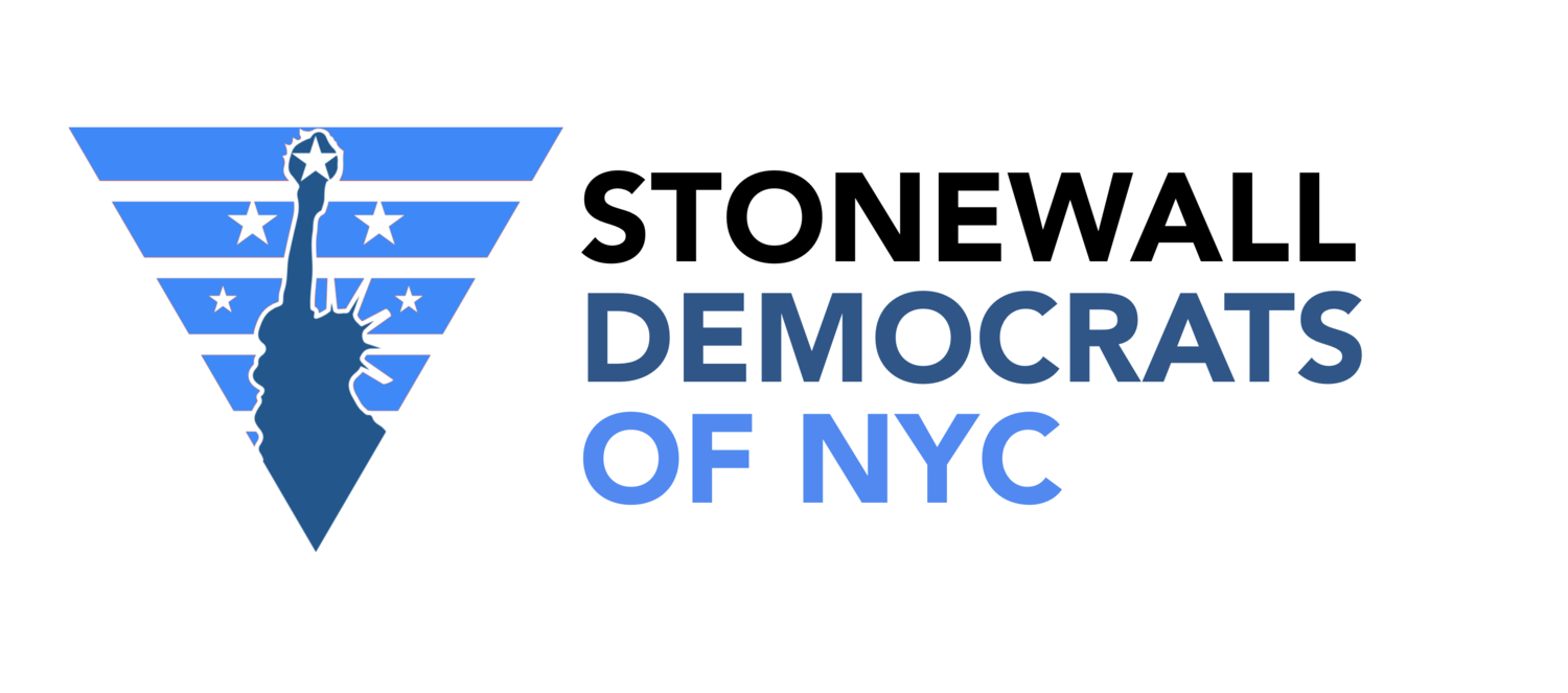 I am proud to be endorsed by the Stonewall Democrats of New York City.
