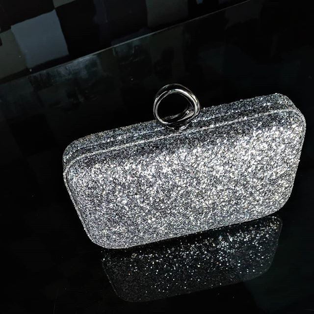 For all you sparkle fairies * #lunasewickley #sewickleyshops #sewickley #15143 #pittsburghboutique #shopsmallbusiness #treatyourself  #sparkleandshine #clutchbag #halston #accessorize