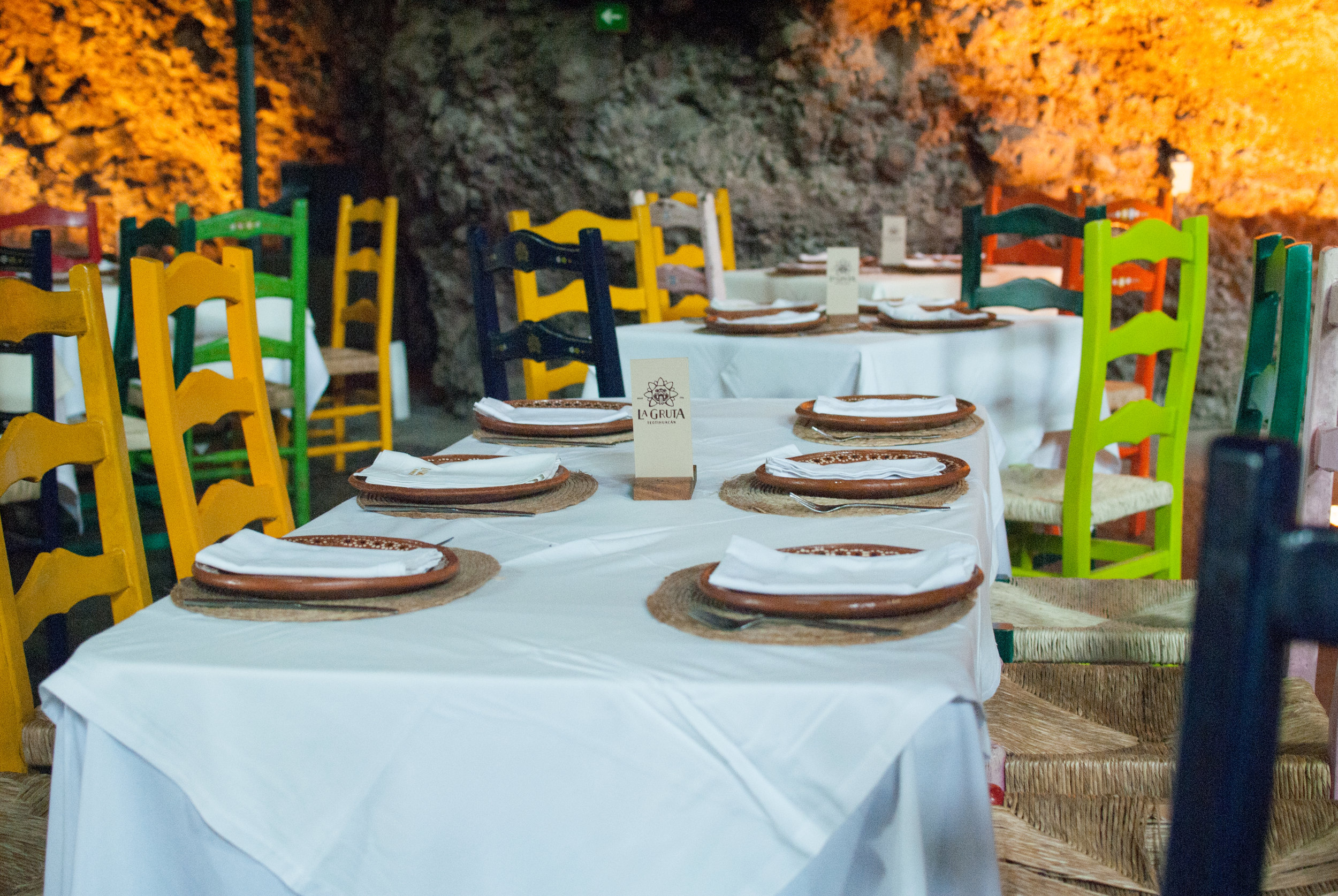 la gruta restaurant, mexico