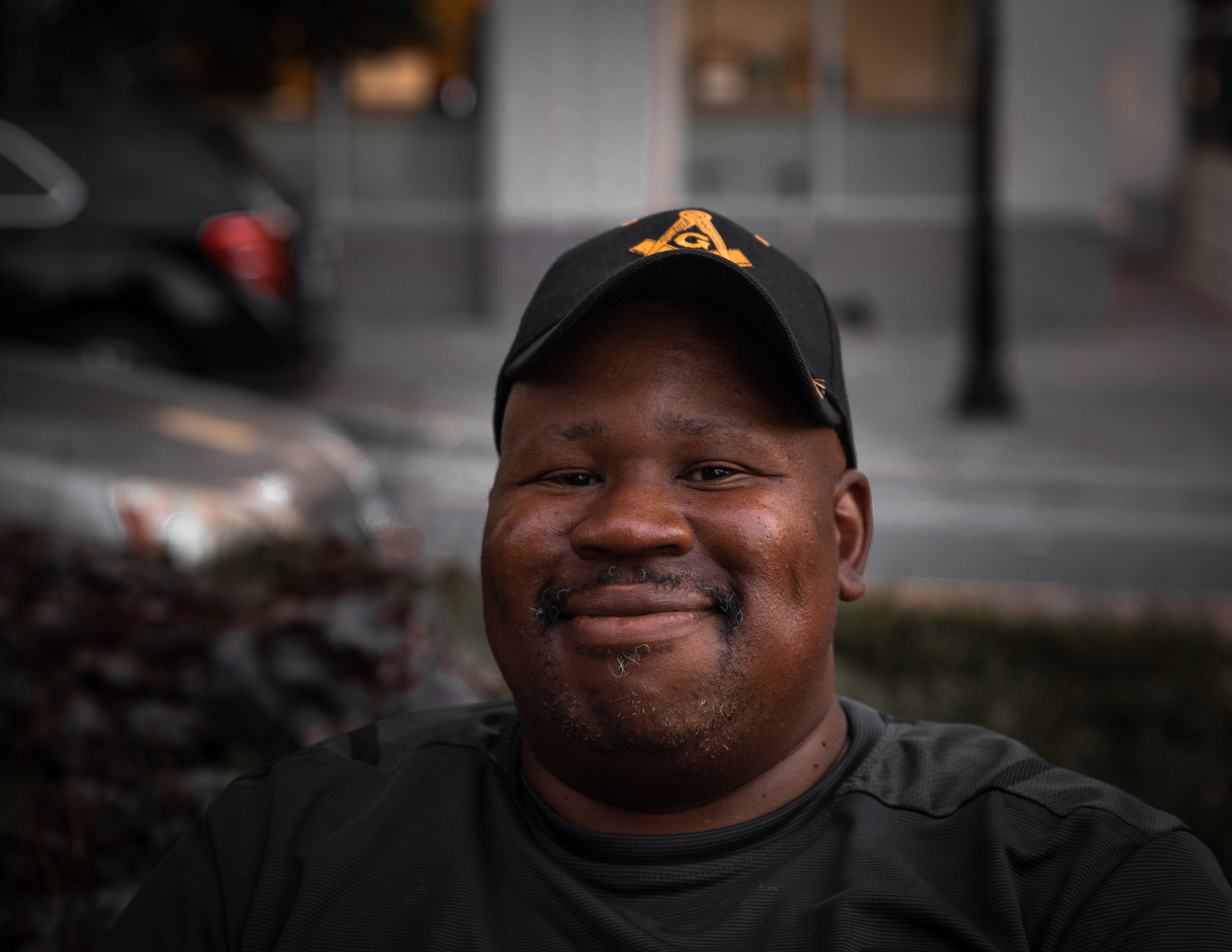 """You have to sit down and talk to people. I come out here and sit and eat with the homeless community almost every day. It's simple, all people are worth valuing."""
