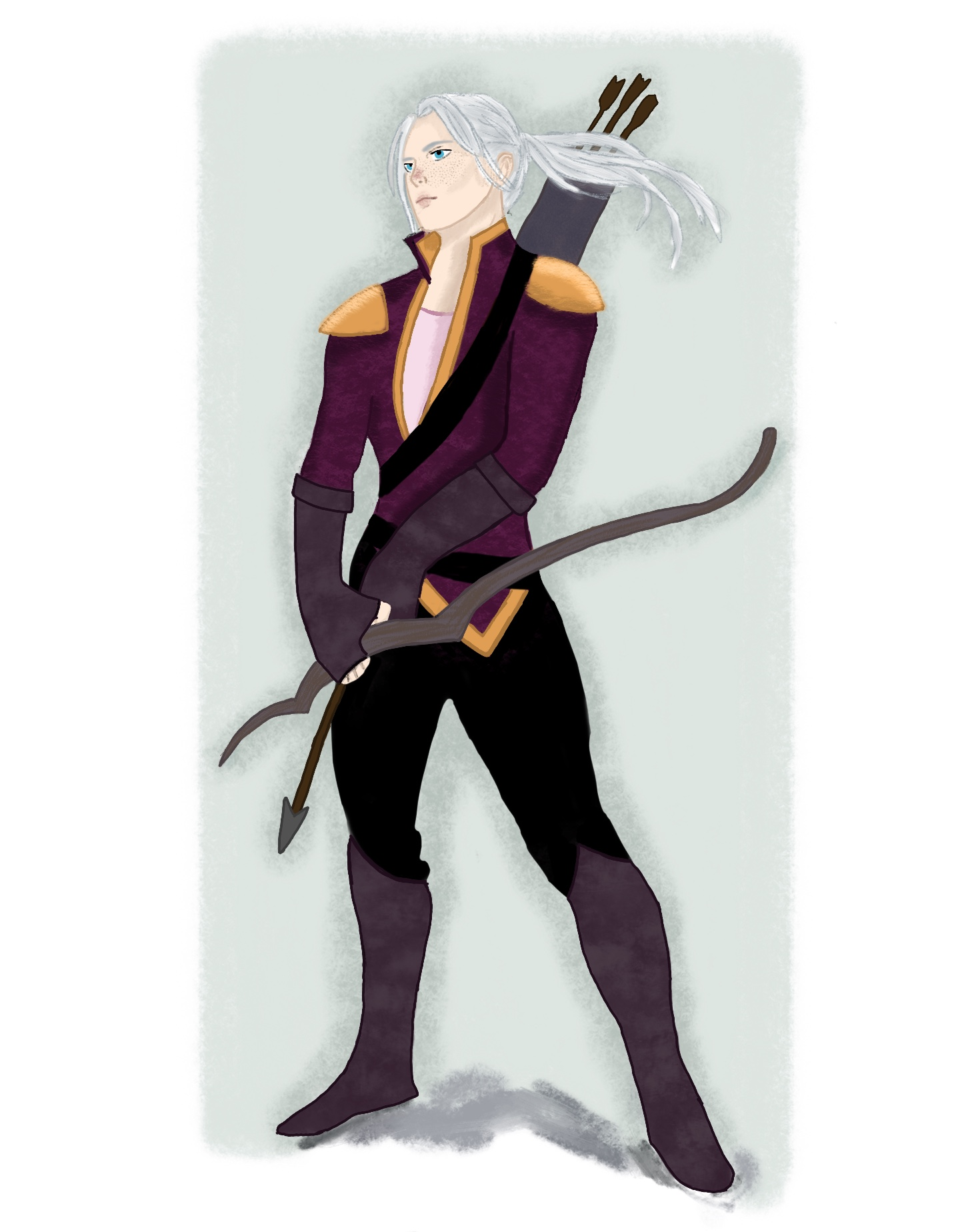 Dungeons and Dragons Character Design