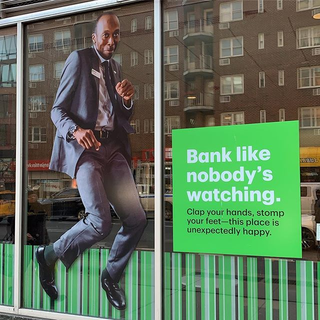 Am I wrong or is this a bad slogan for a bank?