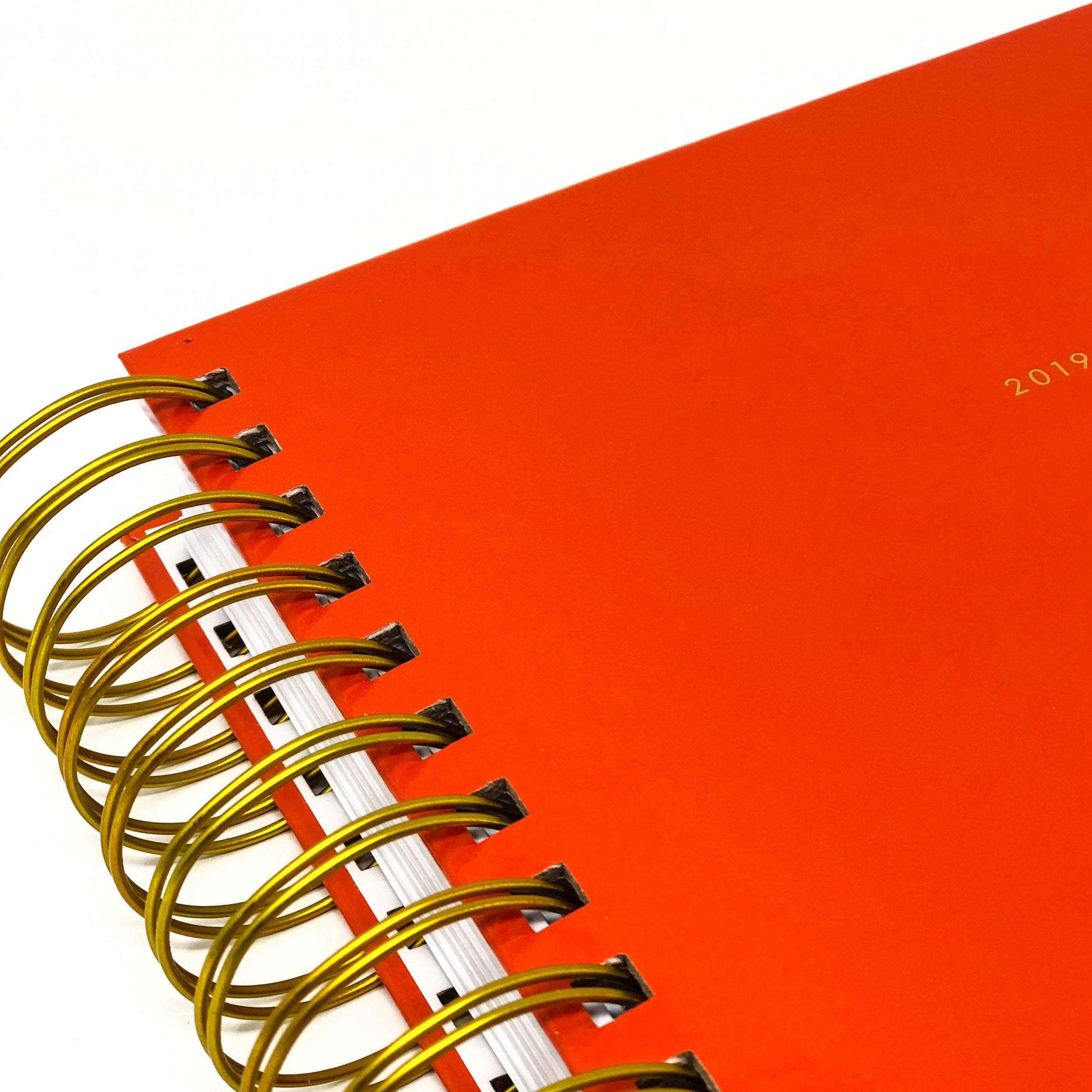 deep orange - 2019-2020 academic planner