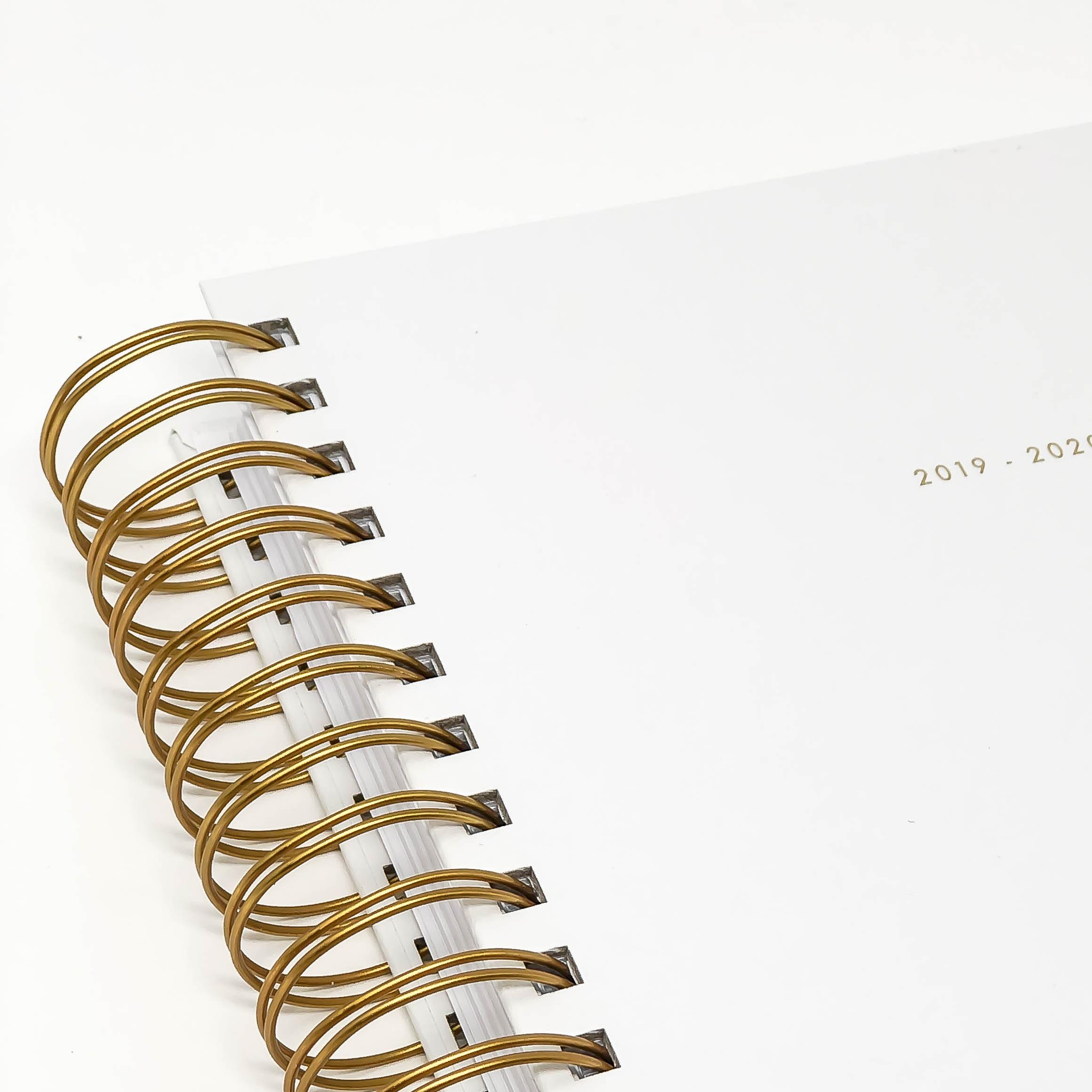 gloss white - 2019-2020 academic planner
