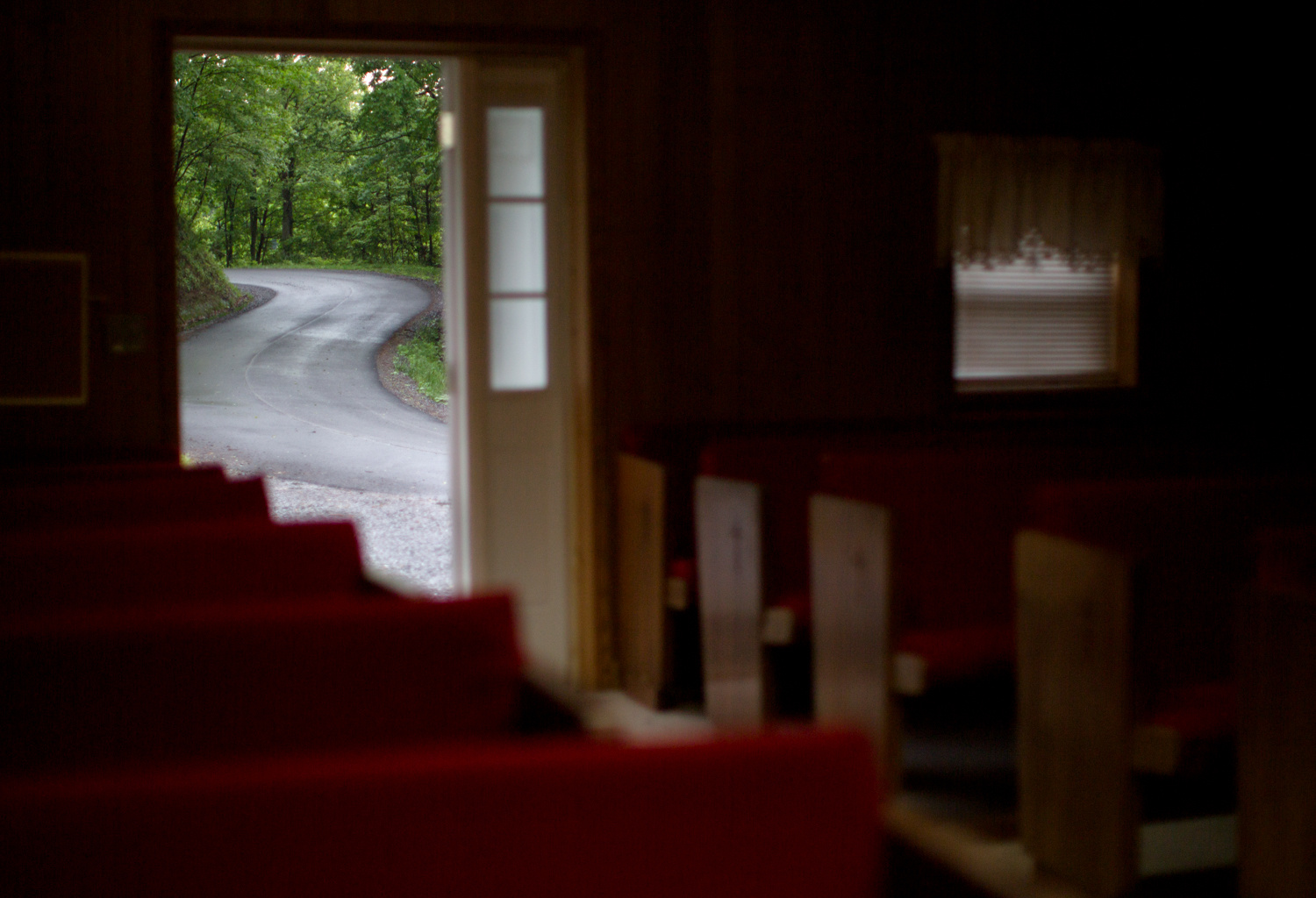 Lauren Pond . May 27, 2014. A winding road leads to the doorway of the Mountaintop Church of Jesus Our Lord, Savior, and Christ in Richlands, Tazewell County, Virginia.