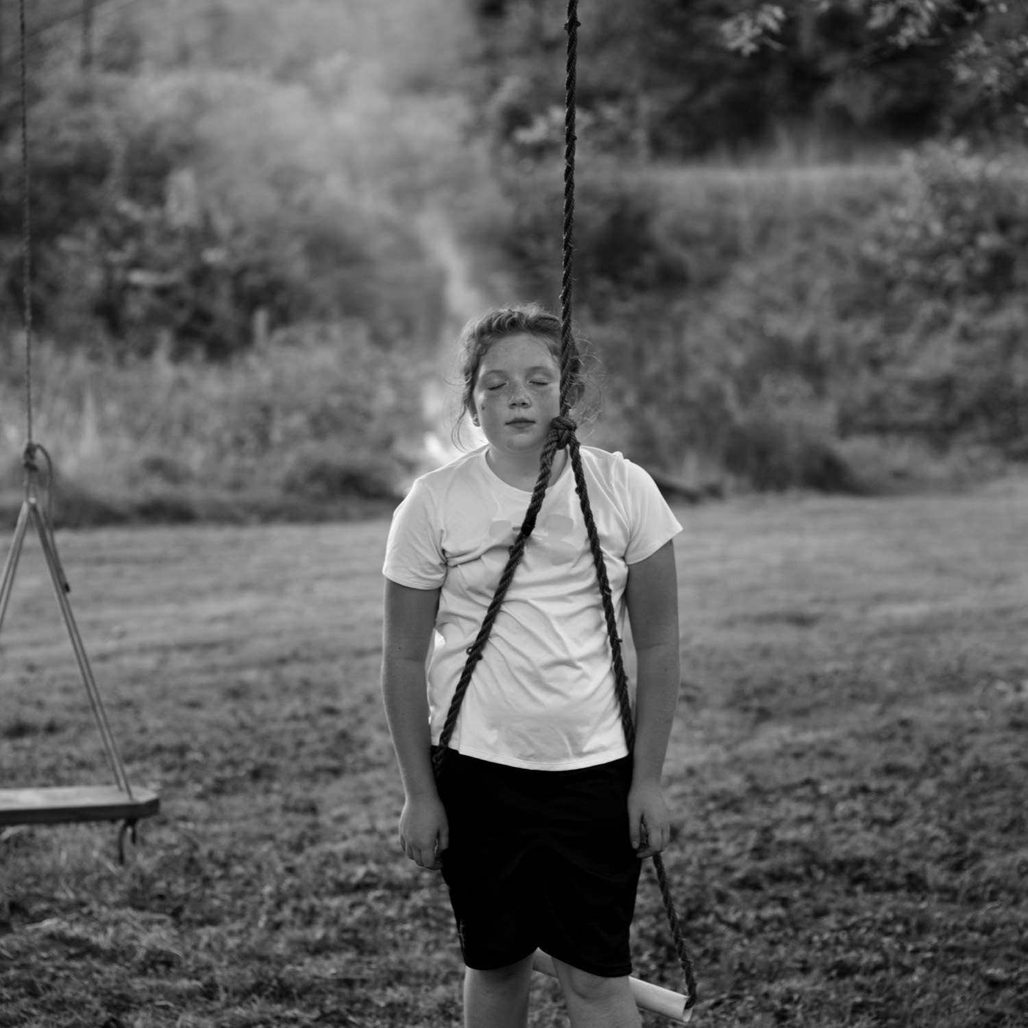 Gloria Baker Feinstein . October 2, 2014. Swings, Oil Springs, Johnson County, Kentucky.