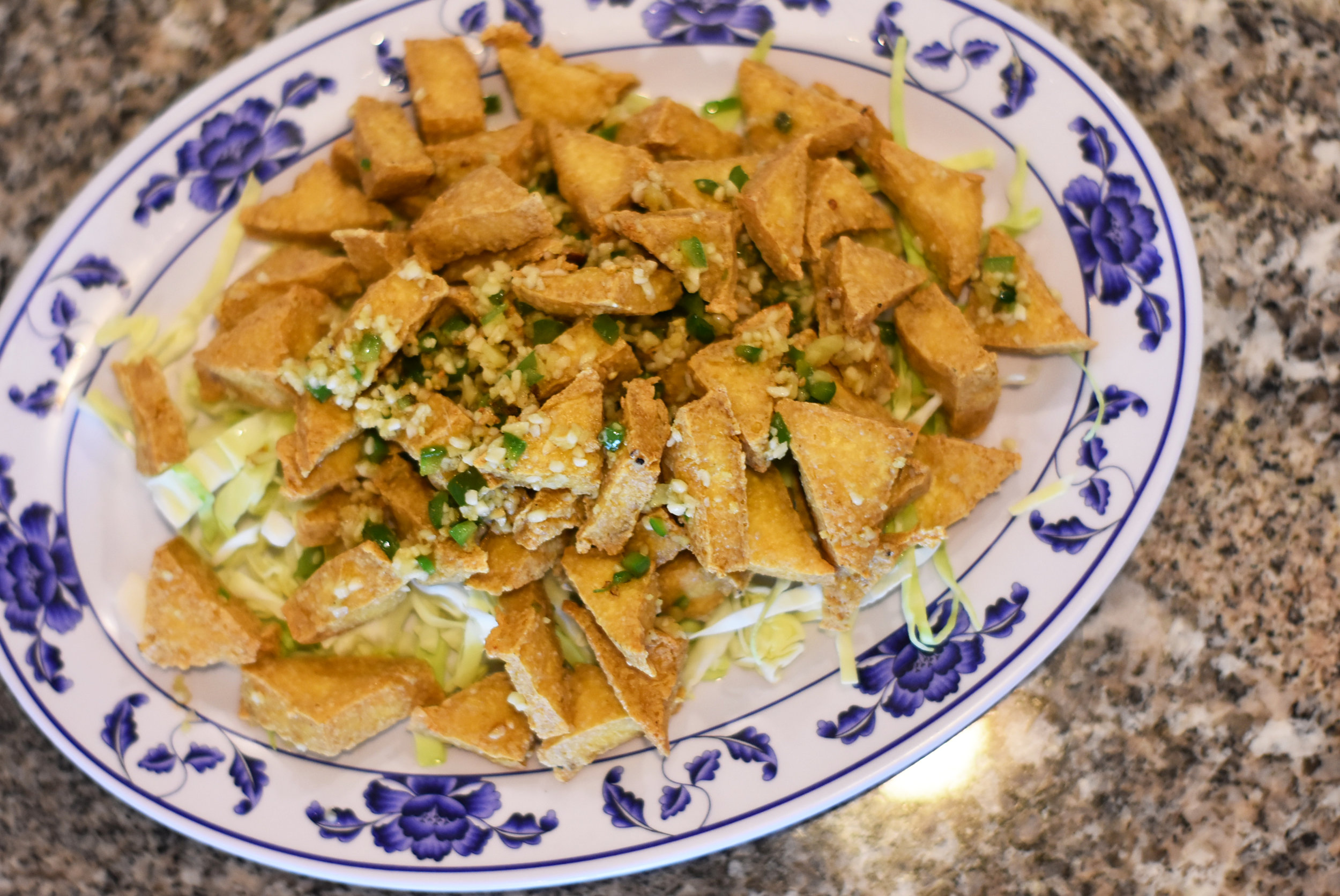 Fried Tofu with Spiced Salt  |  9.99