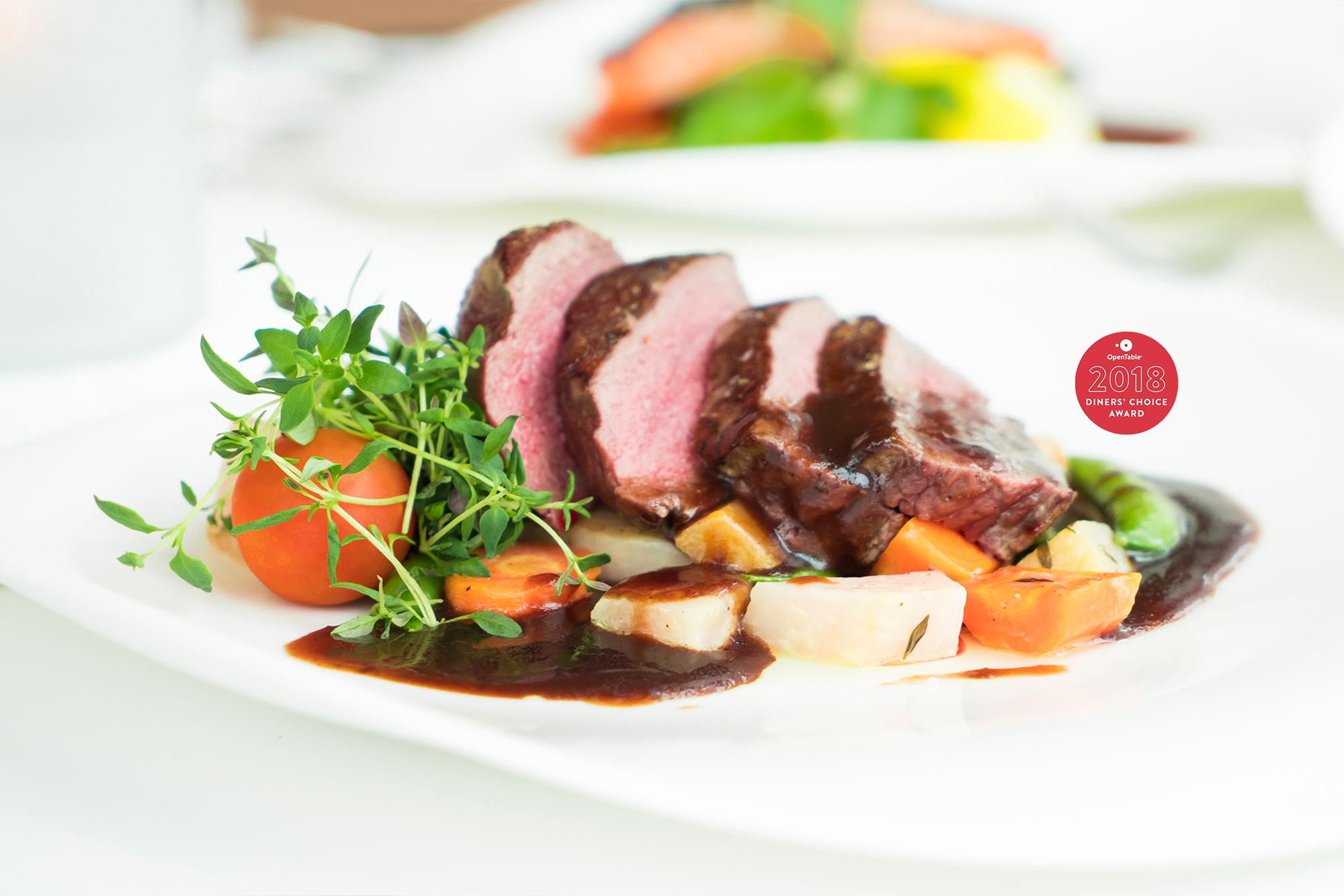 menu - Coastal New England Cuisine with a Modernistic Twist