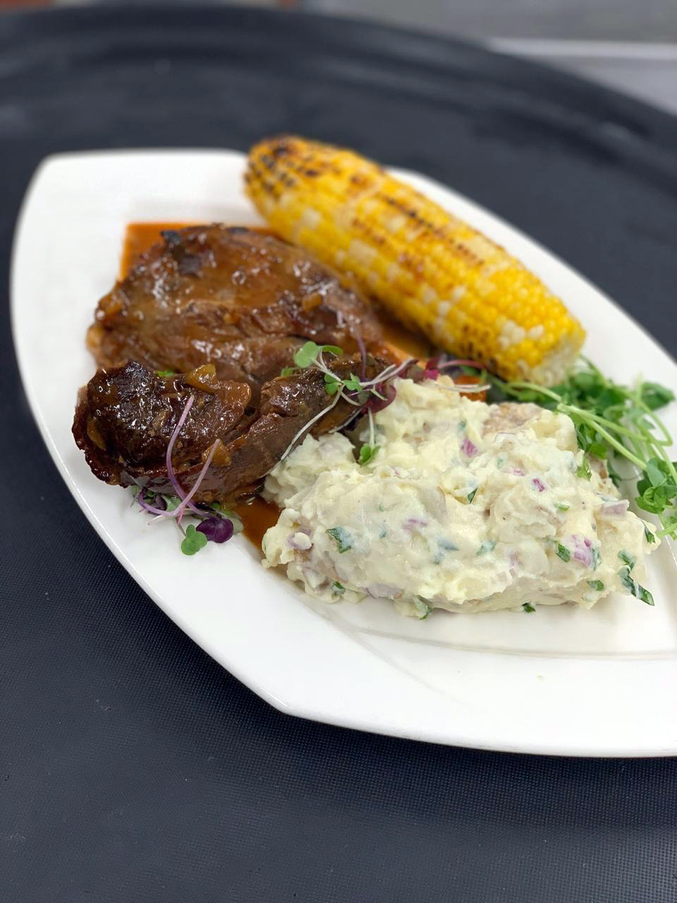 the-flats-boar-potato-salad-corn.JPG