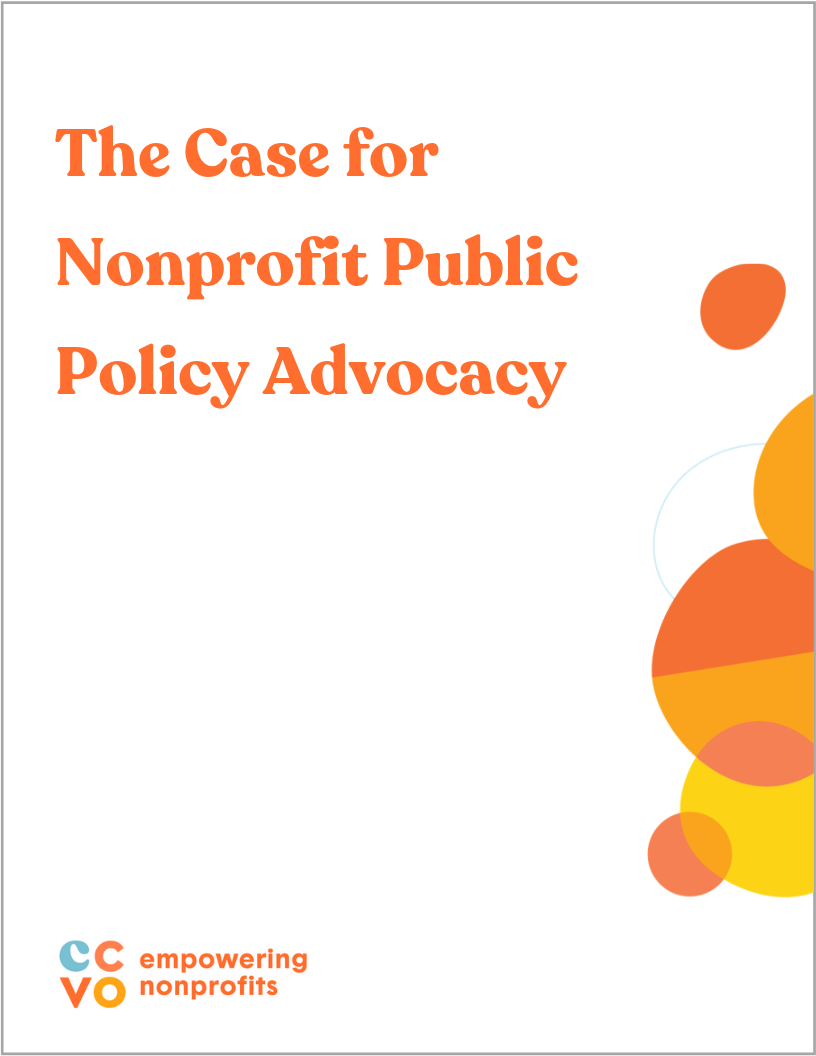 Presentation: The Case for Nonprofit Public Policy Advocacy  MARCH 2019
